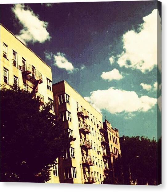 Installation Art Canvas Print - #boston Road #bronx #goodnight by Radiofreebronx Rox