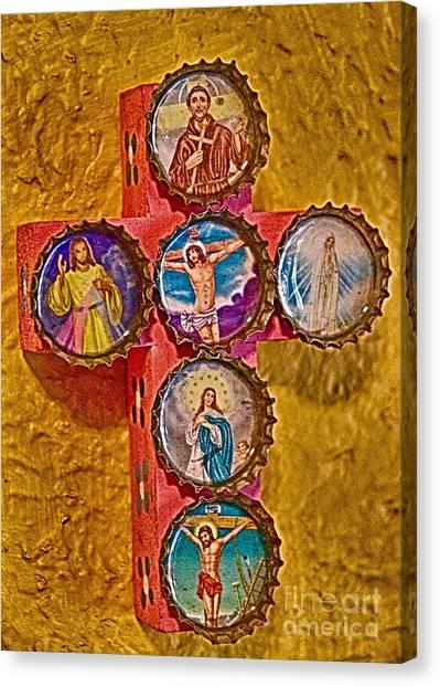 Bottled Religion Canvas Print