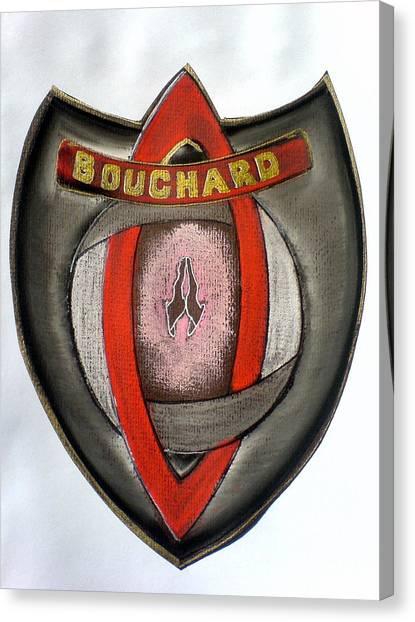 Bouchard Family Crest Canvas Print