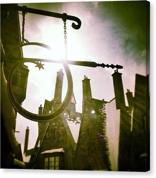 Harry Potter Canvas Print - Bought Teleporting Wand, Let's See by Tobrook Eric gagnon