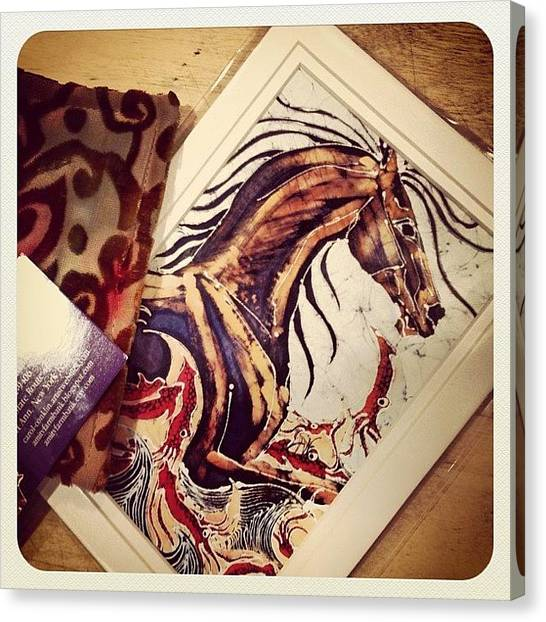Horse Farms Canvas Print - Bought This Beautiful Coin Purse And by Shannon Ferguson