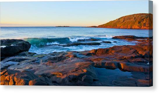 Boulder Bay Sunrise Canvas Print