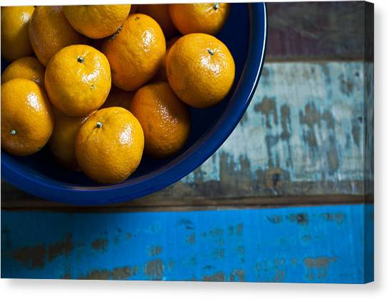 Rustic Canvas Print - Bounty by Tammy Lee Bradley