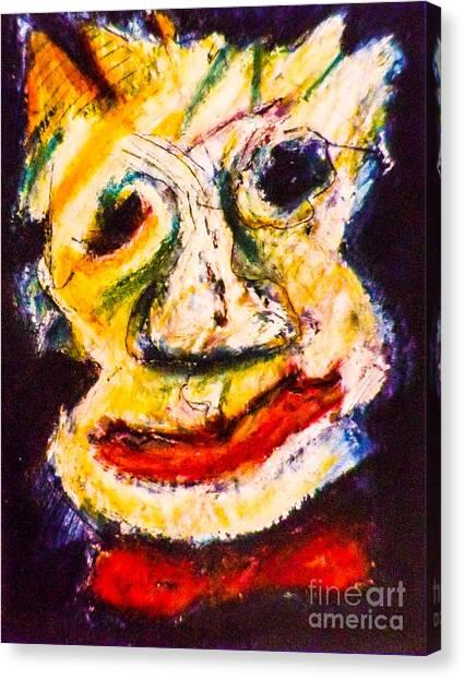 Bow-tie Man Canvas Print by Bill Davis