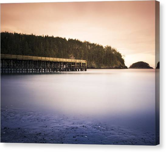 Bowman Bay Sunset Canvas Print