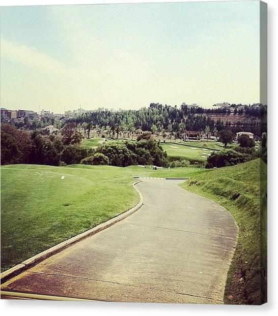 Golf Canvas Print - Br Camino #instagram #webstagram by Leon Urfali
