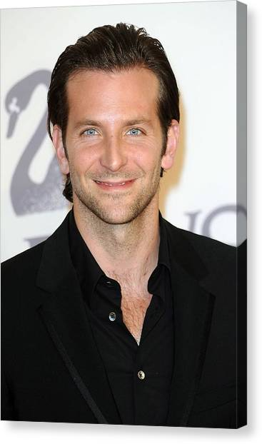 Alice Cooper Canvas Print - Bradley Cooper At Arrivals For The 2009 by Everett