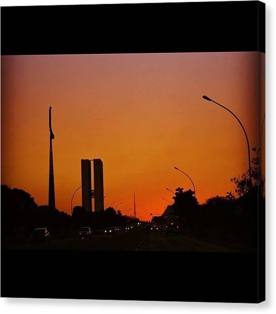 Lucky Canvas Print - Brasília - Brazil by Lucas Rocha