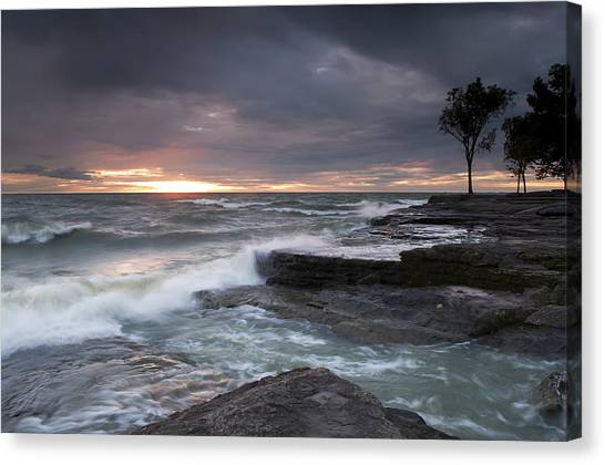 Break Of A New Day 2 Canvas Print