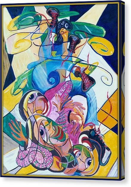 Breakdancer Canvas Print