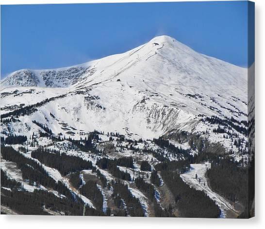 Breckenridge Peak 8 Canvas Print