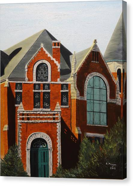 Brick Masterpiece Canvas Print