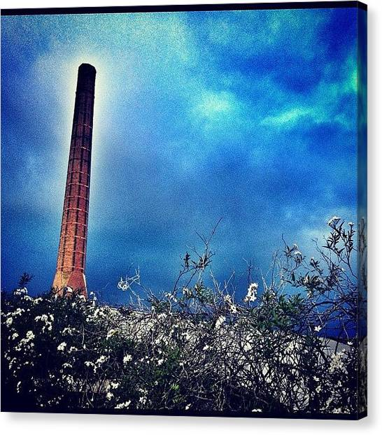 Factories Canvas Print - Brick Works by Dan Kerr