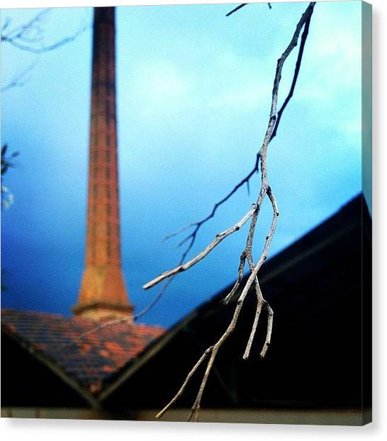 Factories Canvas Print - Brickworks by Dan Kerr