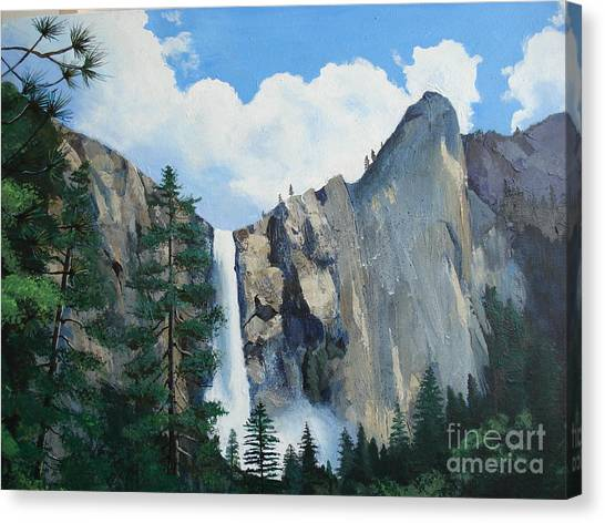 Bridalveil Falls Canvas Print