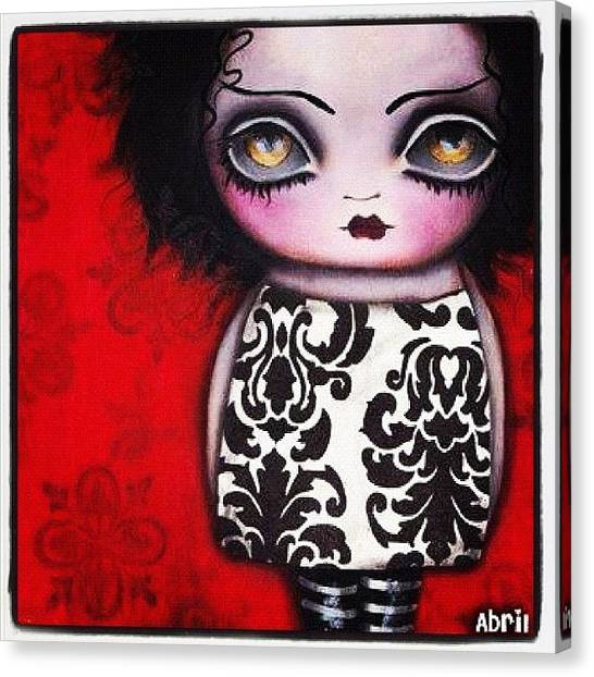 Fantasy Canvas Print - Bride Of Frank by Abril Andrade Griffith