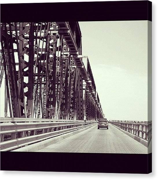 Scifi Canvas Print - Bridge by Jen Caruso