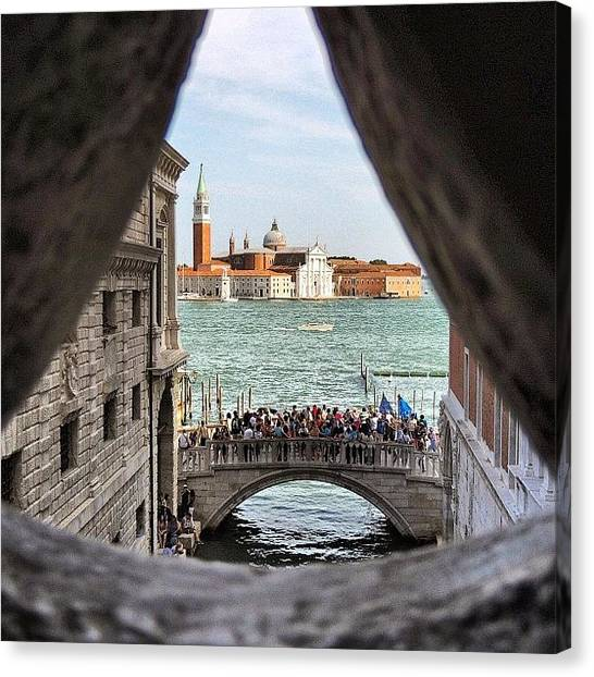 Still Life Canvas Print - Bridge Of Sighs by Chi ha paura del buio NextSolarStorm Project