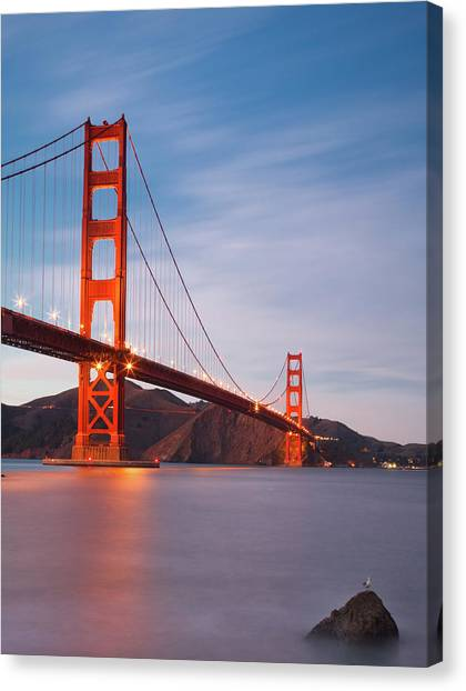 Bridge Over Milky Bay Canvas Print by Sean Duan