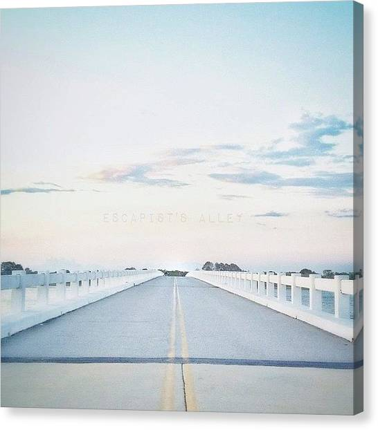 Georgia Canvas Print - Bridge Over Not So Troubled Waters by Escapist's Alley
