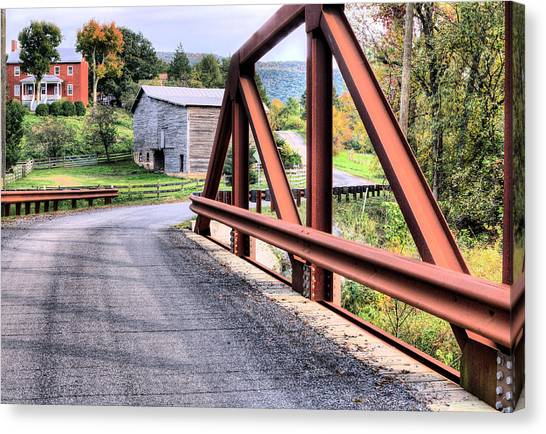 Bridge To A Simpler Time Canvas Print by JC Findley