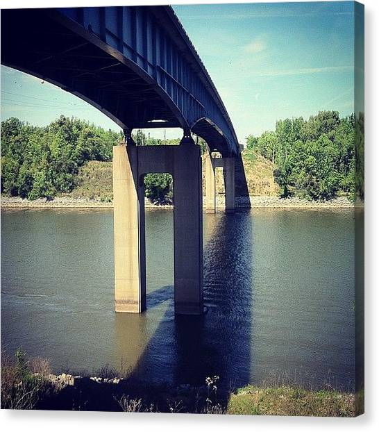 Kentucky Canvas Print - Bridge To Land Between The Lakes by Zach Johnson