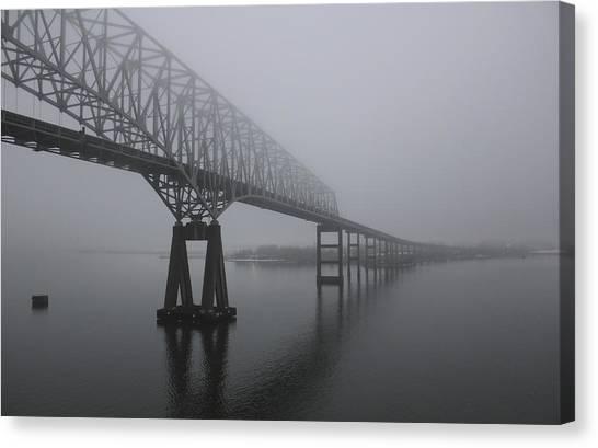 Bridge To Nowhere Canvas Print