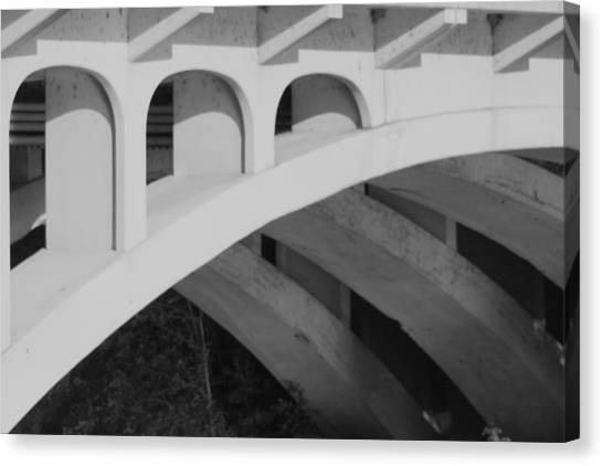 Bridged Trifecta Canvas Print by Artist Orange