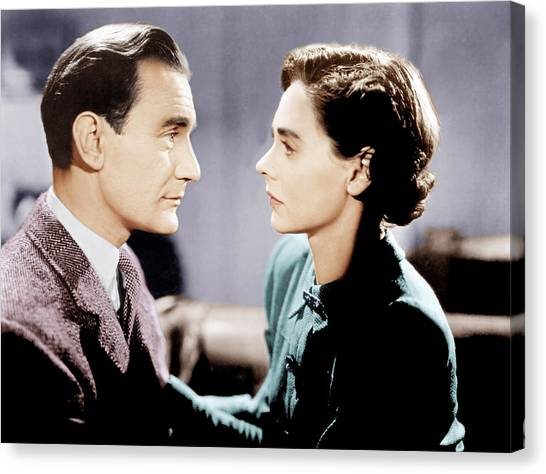 1945 Movies Canvas Print - Brief Encounter, From Left Trevor by Everett