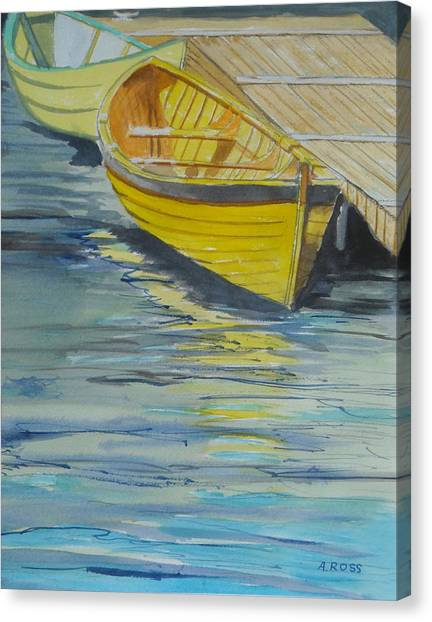 Bright Reflections Canvas Print