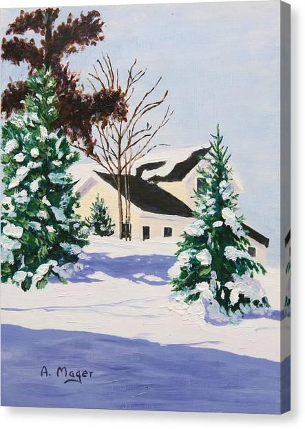 Bright Silent Morning Canvas Print