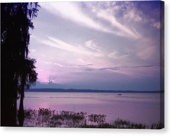 Brilliant Everglades Sunset Canvas Print