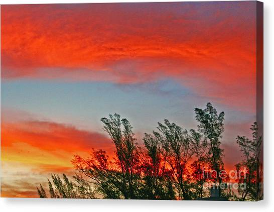 Brilliant Sunrise Canvas Print