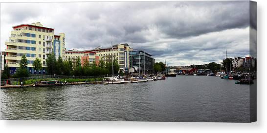 Bristol Panoramic Photograph Canvas Print