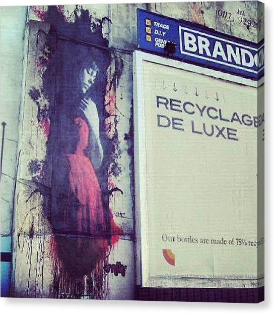 Street Signs Canvas Print - #bristolphotography #bristolart by Nigel Brown