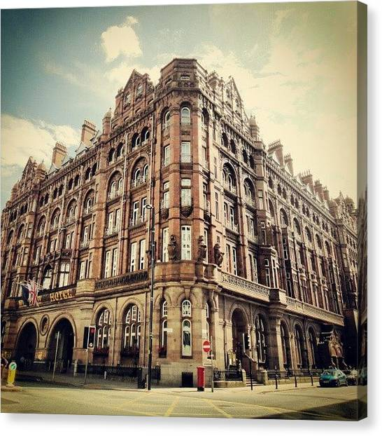 Hotels Canvas Print - #britanniahotel  #hotel #buildings by Abdelrahman Alawwad