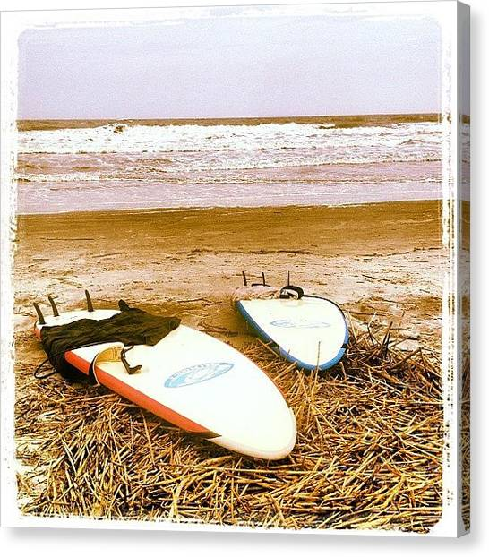 South Carolina Canvas Print - Bro Surf Session #south #carolina by The Fun Enthusiast
