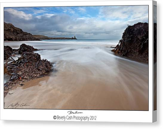Broadhaven Canvas Print