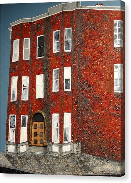 Bronx Building Canvas Print
