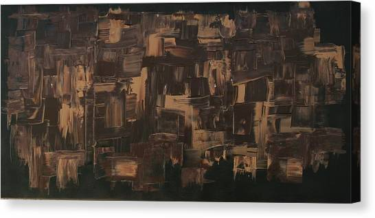 Brown And Brown Canvas Print by James Johnson
