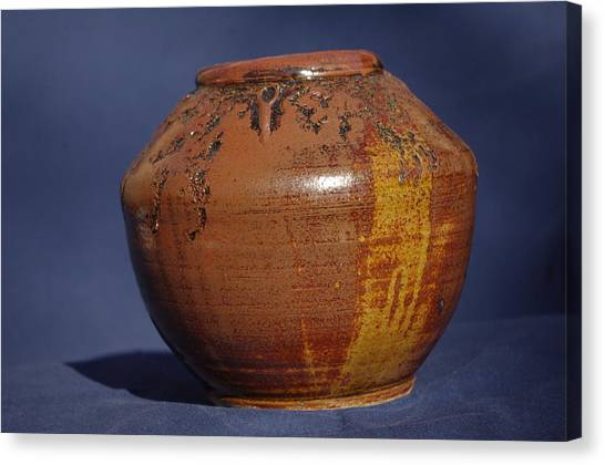 Brown Vase Canvas Print