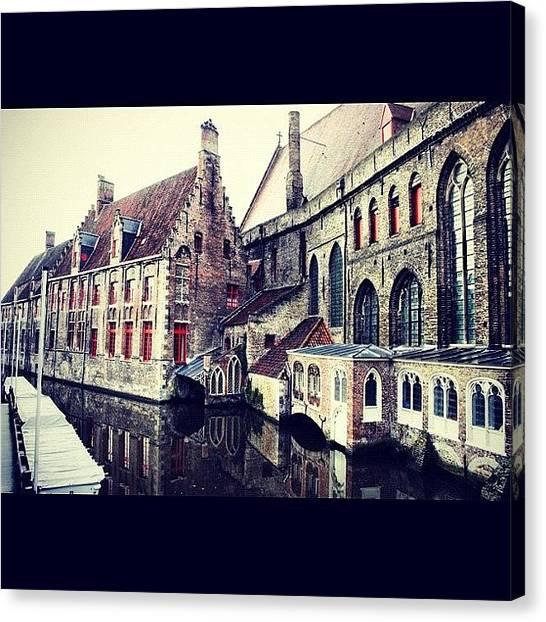 Tuna Canvas Print - Brugge - Belgium by Yalin Tuna