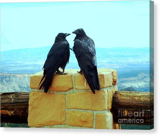 Bryce Canyon Couple Canvas Print