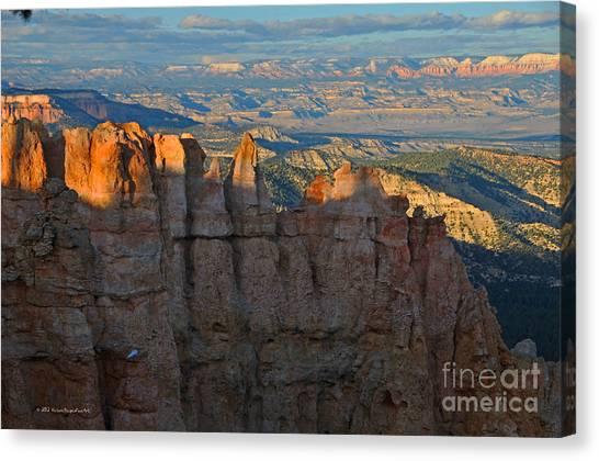 Bryce Canyon National Park Dusk Landscape Canvas Print