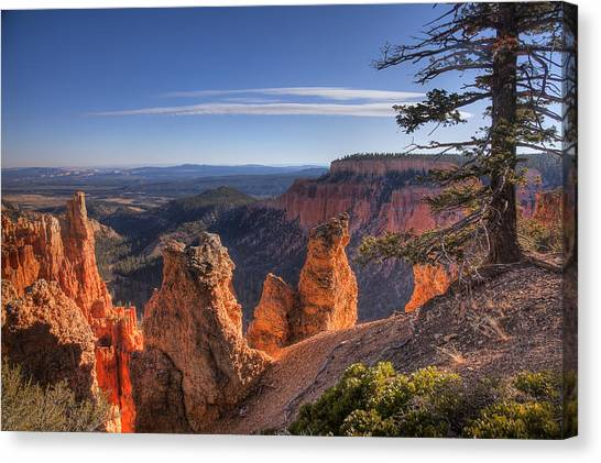 Bryce Sunrise Canvas Print