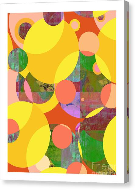 Bubblicious Iv Canvas Print by Ricki Mountain