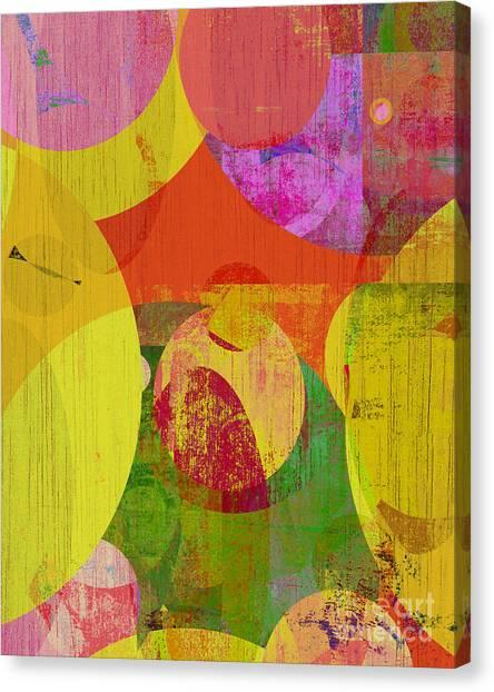 bubblicious VI Canvas Print by Ricki Mountain