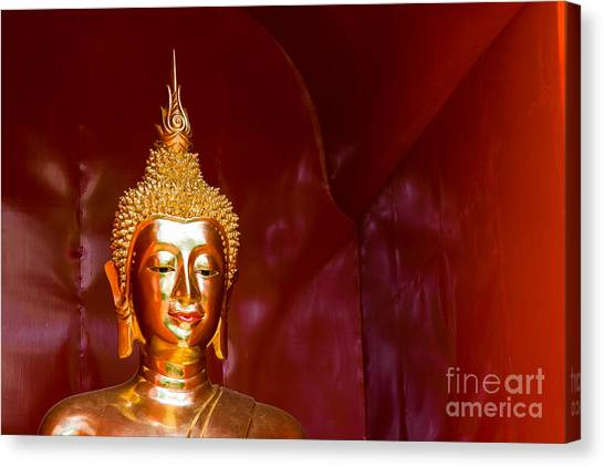 Buddha Bliss Canvas Print