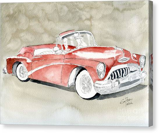 Buick Skylark 1953 Canvas Print