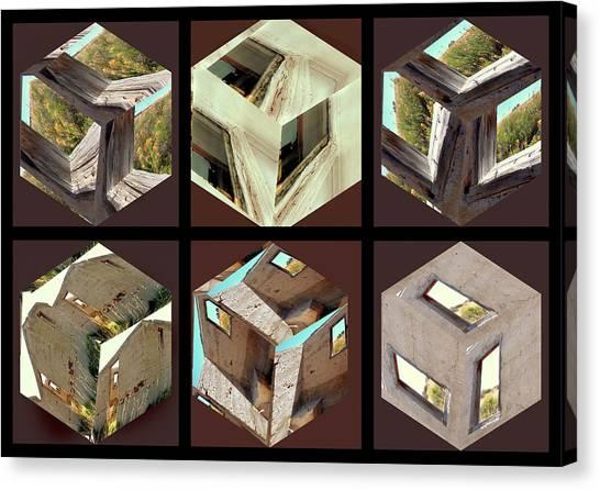 Building Blocks Canvas Print by Irma BACKELANT GALLERIES